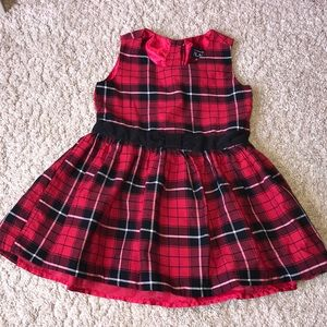 Beautiful Plaid dress with liner